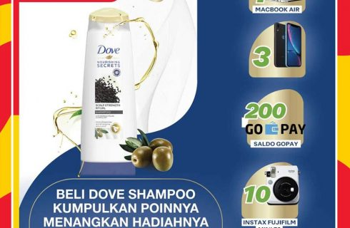 Dove Shampoo Berhadiah Macbook Air