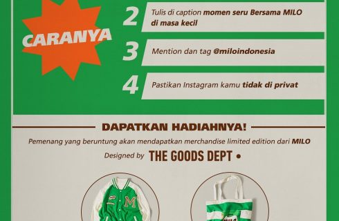 Milo Berhadiah Merchandise Limited Edition (Designed By : The Goods Dept)