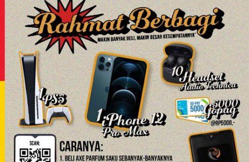 AXE Berhadiah PS5 dan iPhone
