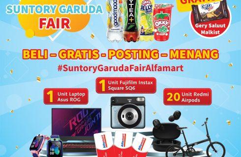 Suntory Garuda Fair Berhadiah Laptop