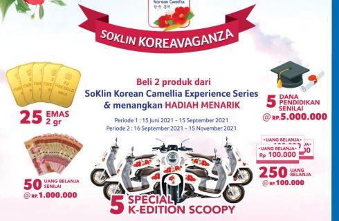 Soklin Koreavaganza Berhadiah Motor