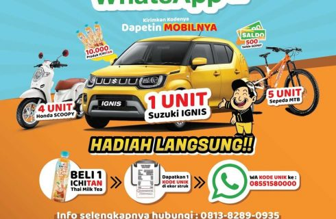 Ichitan Berhadiah Mobil