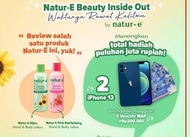 Natur-E  Berhadiah iPhone 12