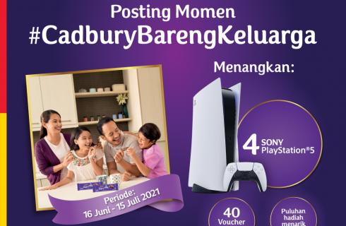 Cadbury Berhadiah PS5