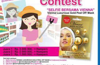 Vienna Luxurious Gold Peel Off Mas Berhadiah Uang Tunai