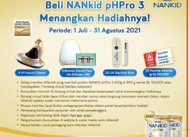NANkid pHPro 3 Berhadiah Vacum Cleaner