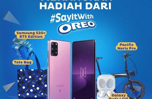 Undian Oreo Berhadiah Samsung S20 BTS Edition