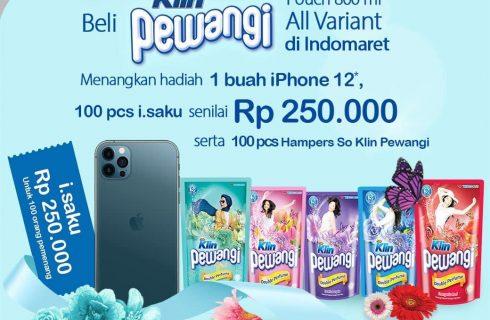 So Klin Pewangi Berhadiah iPhone 12