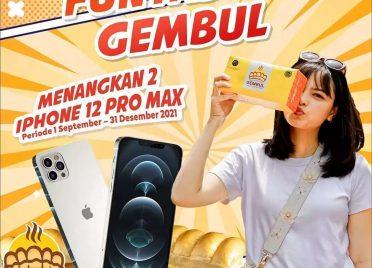 Roti Gembul Berhadiah iPhone 12 Pro Max