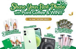Point Coffee Berhadiah iPhone