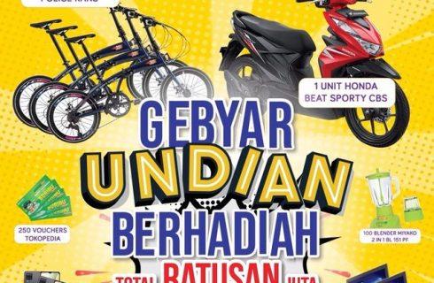 Undian Greebel Berhadiah Motor