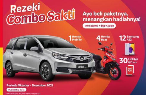 Telkomsel – Rezeki Combo Sakti- Berhadiah Mobil