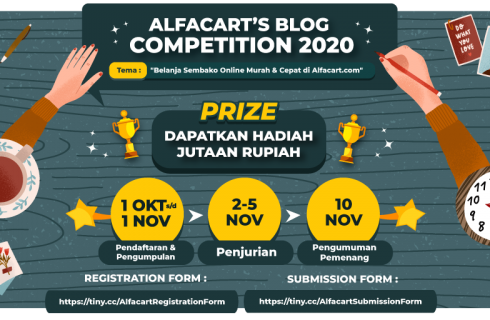 Alfacart  Blog Competition Berhadiah Uang Tunai Jutaan Rupiah