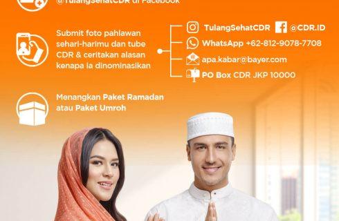 CDR Berhadiah Umroh