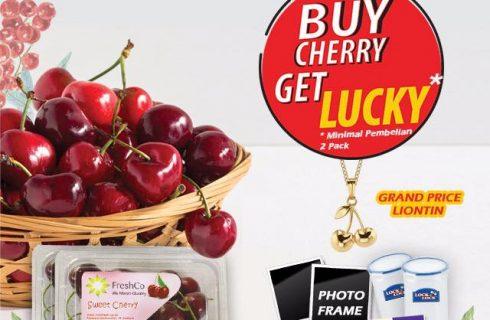 Cherry Berhadiah Liontin Emas