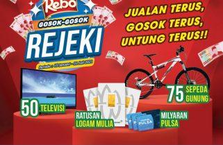 Kuaci Rebo Berhadiah Sepeda Dan TV
