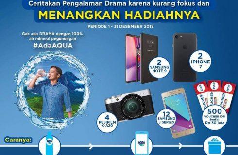 Aqua – Indomaret Berhadiah Gadget