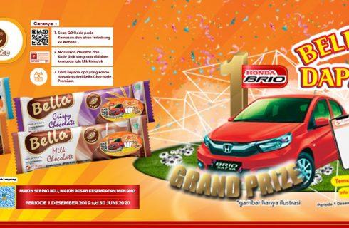 Coklat Bella Berhadiah Mobil