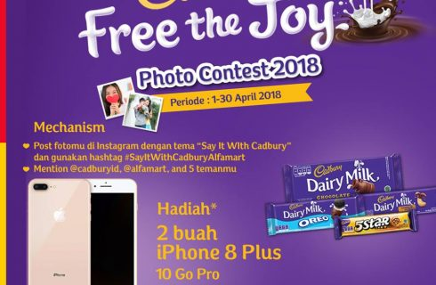 Cadbury Berhadiah iPhone 8 Plus