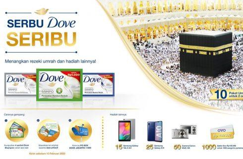 Dove Berhadiah Umroh