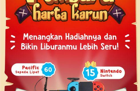 Undian Glico Wings Waku-Waku Berhadiah Nintendo Switch