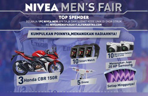 Nivea Men Berhadiah Honda CBR
