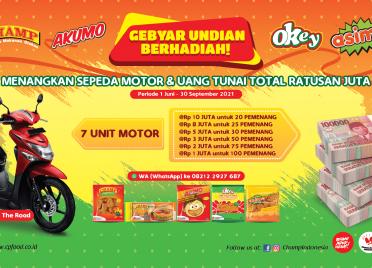 Champ Berhadiah Motor Dan Uang Tunai